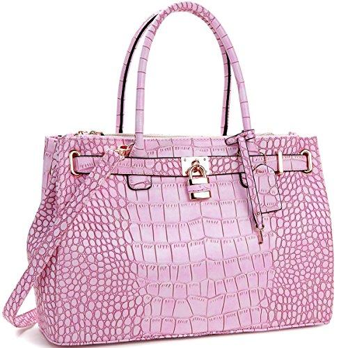MyLux® Fashion Designer High Qaulity Handbag 0326 PINK