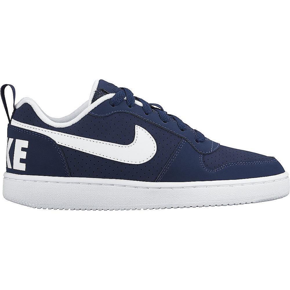 Nike Court Borough Low (GS), Zapatillas de Baloncesto para Hombre, Azul (Midnight Navy / White), 38 EU