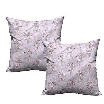 Amazon.com: HeKua - Funda de almohada cuadrada, diseño de ...