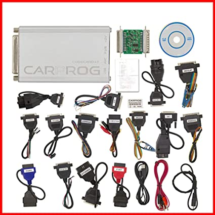 Amazon com: Yourshops OBDII Scan Tool CARPROG V10 93 Full ECU Airbag