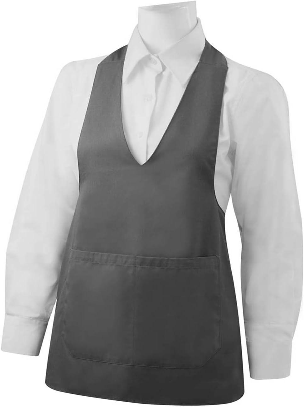 MISEMIYA Ref Reinigungssch/ürze mit Tasche 65 mm x 70 mm Labor-Uniform CLINICA Krankenhausreinigung K/örperpflege 8602 granatrot