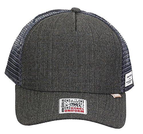 grey DJINNS Glen Cap Trucker High Check Fitted qqExw6rf