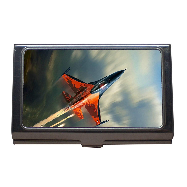 Fighter Jets Business Card Holder,Fighter d20pfsrd,Business Card Case Stainless Steel