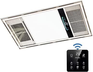 QIN Calentador de Techo 2800W for el baño Calefacción Escape Aire ...
