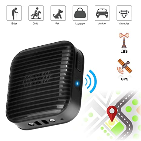 amazon com mini gps tracker locator real time tracking sos alarm