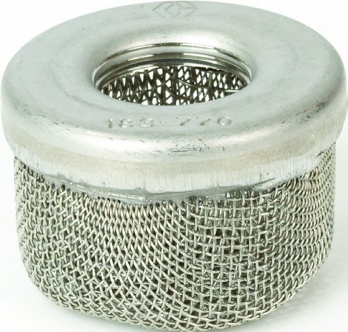 Graco 181072 1-Inch NPSM Inlet Strainer Screen for Airless Paint Spray (Pump Inlet Strainer)