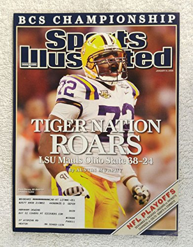 Glenn Dorsey - LSU Tigers - 2007 National Champions! - Sports Illustrated - January 14, 2008 - Ohio State Buckeyes - College Football - SI ()