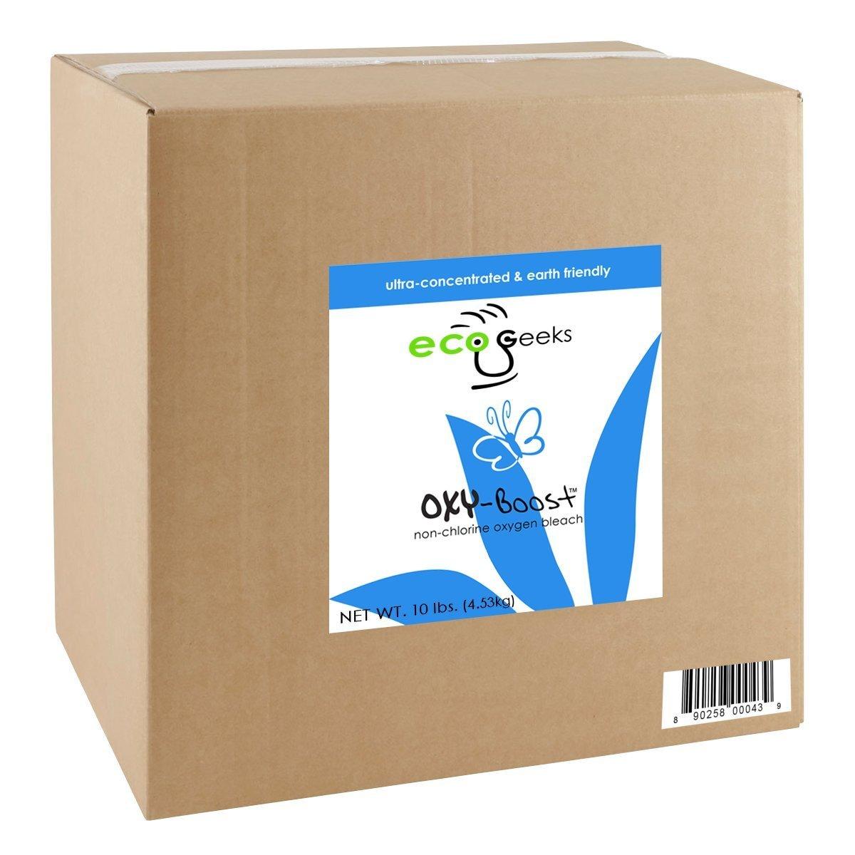 ecoGeeks oxy-Boost Oxygen Bleach 10LB Bulk Packaged