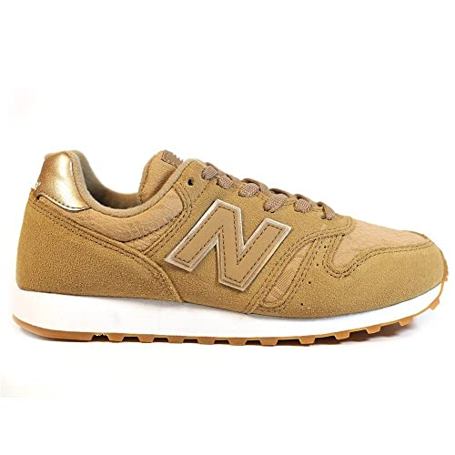 f35d9e59b1983 Zapatillas NEW BALANCE WL373 Ocre  Amazon.es  Zapatos y complementos