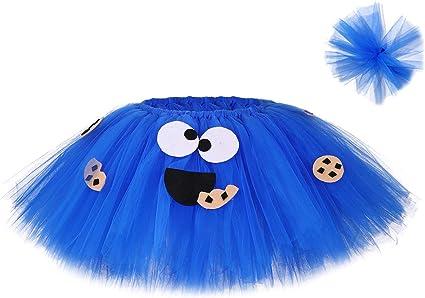 MOCUER - Falda tutú para niñas, diseño de tutú, Color Azul, Lindo ...