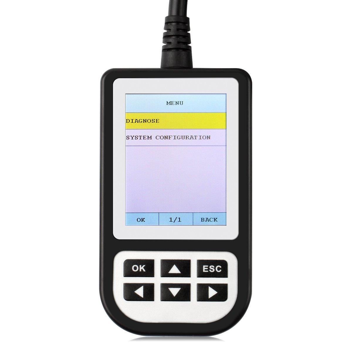 Creator C110 V4.4 Auto OBDII Fault Code Reader BMW/MINI Diagnostic Scan Tool