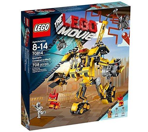 LEGO (LEGO) movie Emmett architectural mecha 70814 (70814 Lego Movie)