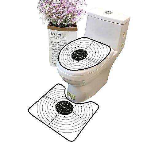 Amazon Com 2 Piece Bathroom Toilet Accessory Set Target