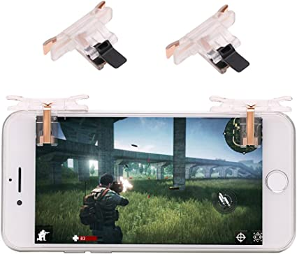 Newest Version L1R1 Trigger//Rules of Survivale//Survivor Royale//Free Fire//Knives Out Mobile Game Controller BestPub Pubg Contr/ôleur Mobile 2019