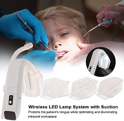 Zroven - Luz intraoral dental con aspirador, sistema LED con ...