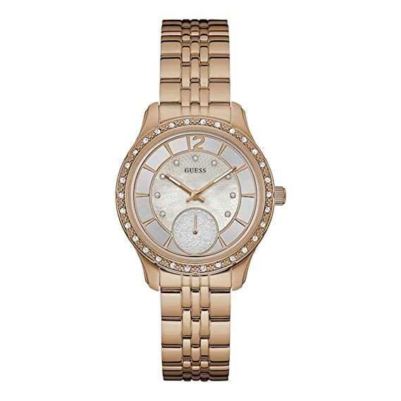 GUESS WATCHES LADIES WHITNEY relojes mujer W0931L3: Guess: Amazon.es: Relojes