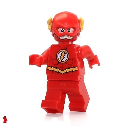 Lego Superheroes Flash Minifig 2014 Amazoncouk Toys Games