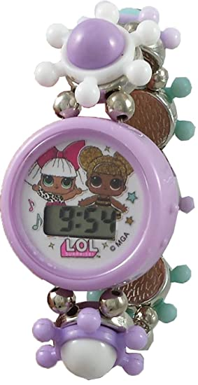 amazon com l o l surprise stretch bracelet watch set watches