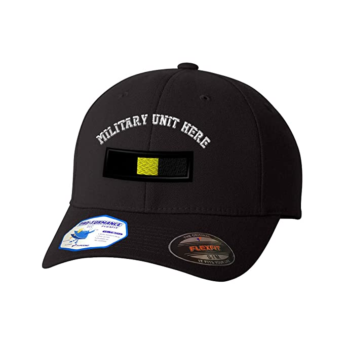 Amazon.com: Custom Flexfit Baseball Cap Warrant Officer A Embroidery Military Unit Polyester: Clothing