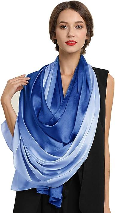 Various Designs /& Colours Ladies Celebrity Silk Feel Long Scarf