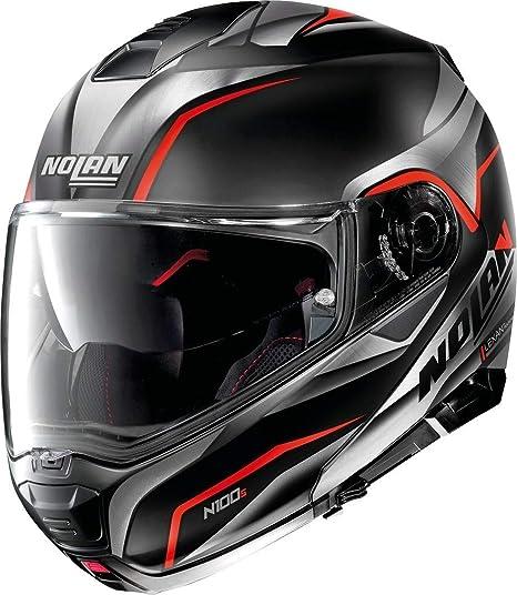 Nolan Herren N100 5 Helmet Flat Black L Auto