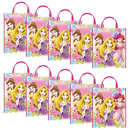 Disney Princess Party Tote Bag (Set Of 10)