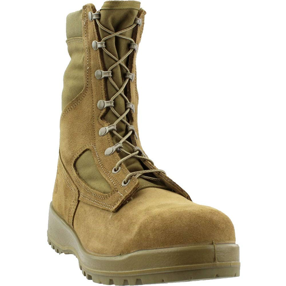 dcf79ea360fd Belleville Men's USMC Hot Weather Steel Toe Boot (EGA)