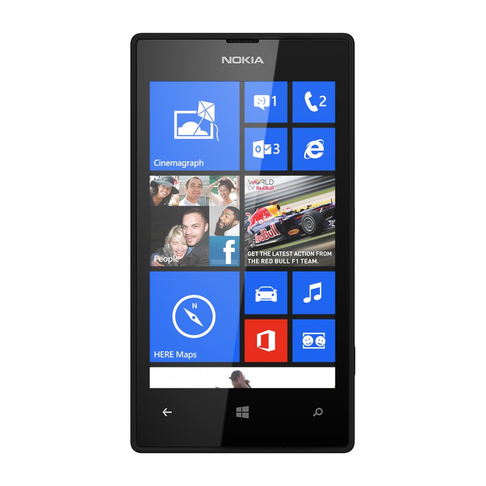 Amazon nokia lumia 520 unlocked touchscreen smartphone with amazon nokia lumia 520 unlocked touchscreen smartphone with windows operating system black cell phones accessories ccuart Image collections