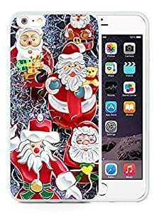 2014 Newest iPhone 6 Plus Case,Merry Christmas White iPhone 6 Plus 5.5 TPU Case 80 hjbrhga1544