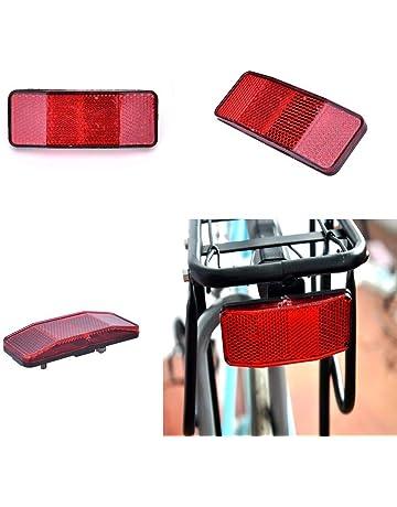 Yongrow Bike Rear Reflector Kit,Bicycle Safety Caution Warning Reflector for Rear Pannier Racks Frame