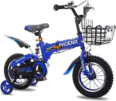 FINLR Bicicleta For Niños Bicicletas Plegables Bicicleta For Niños ...