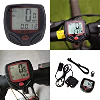 Lista 14 Function Waterproof Bicycle Computer Odometer Speedometer