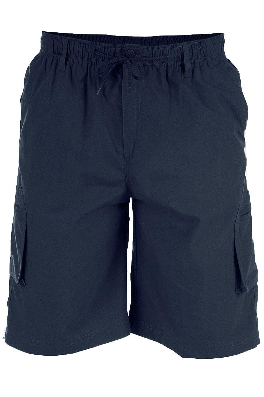 Big King Size Mens Elasticated Waist Cargo Shorts Duke D555 Casual Combats KS20462