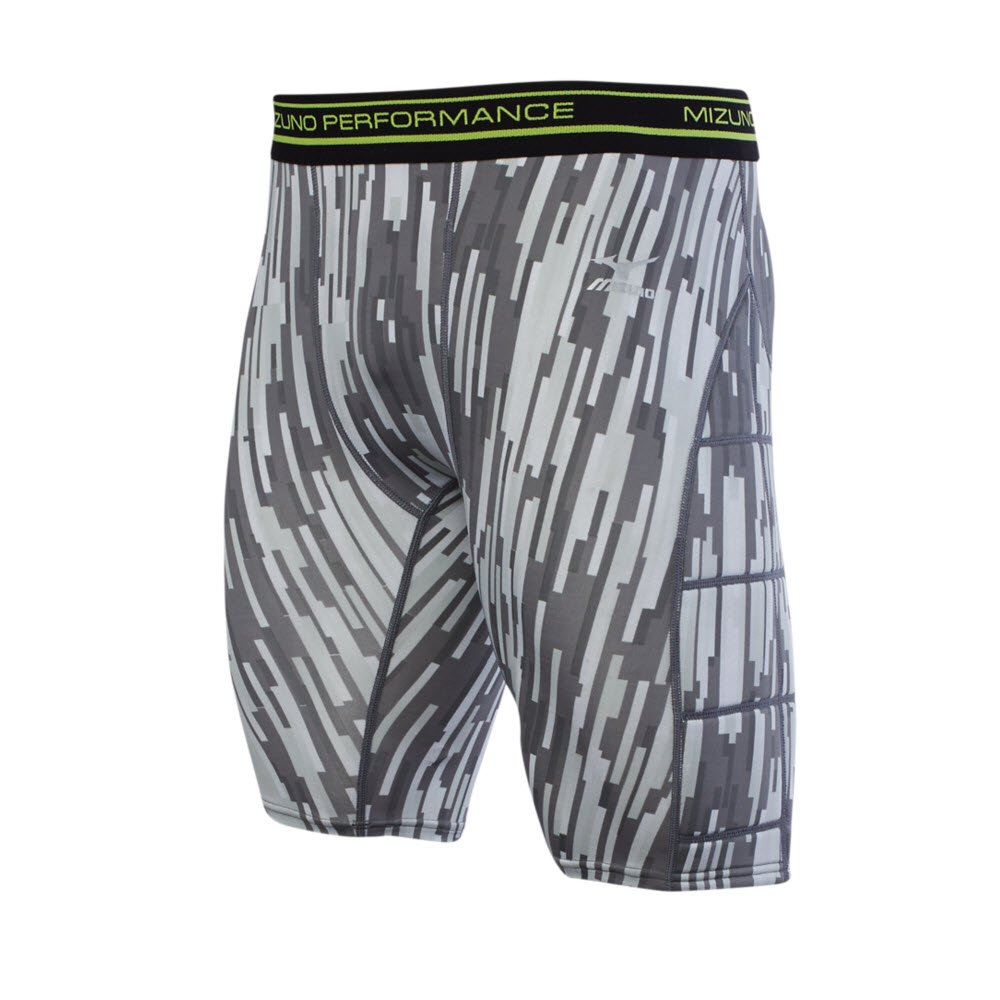 MizunoメンズBreaker Sliding Short 350617 B074C2MRWQ Small|ホワイト ホワイト Small