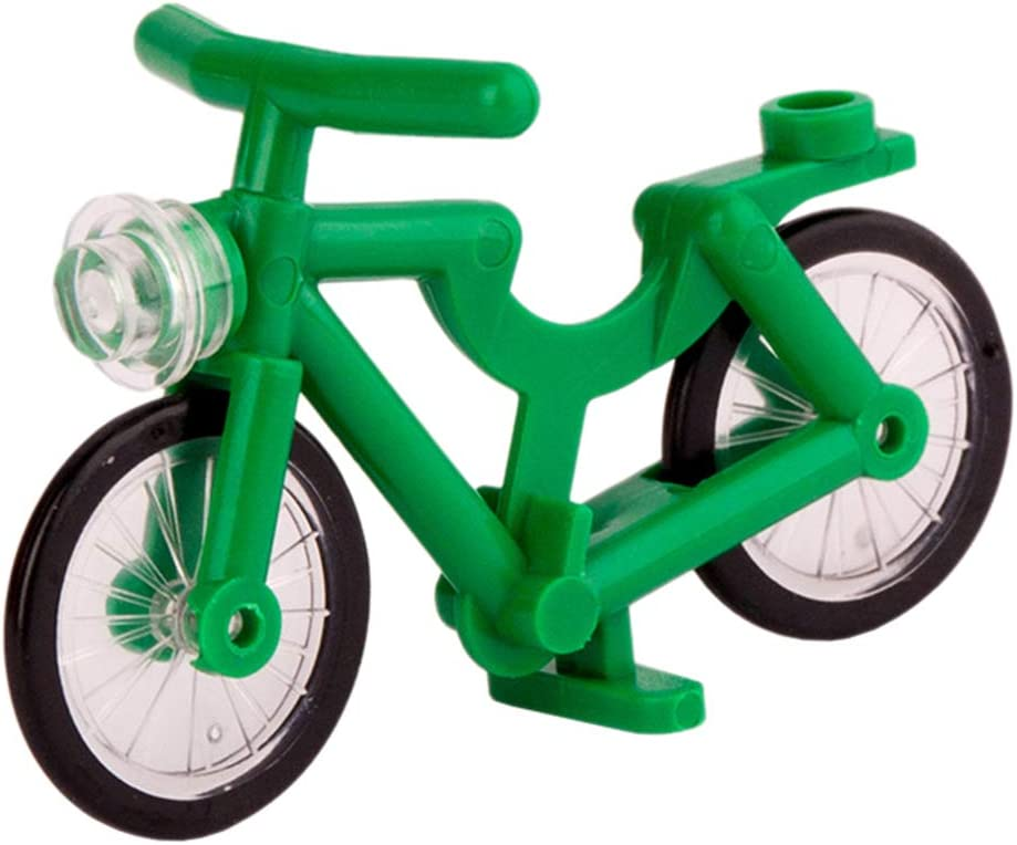 OIURV - Juego de 7 figuras para bicicleta, diseño de Lego: Amazon ...