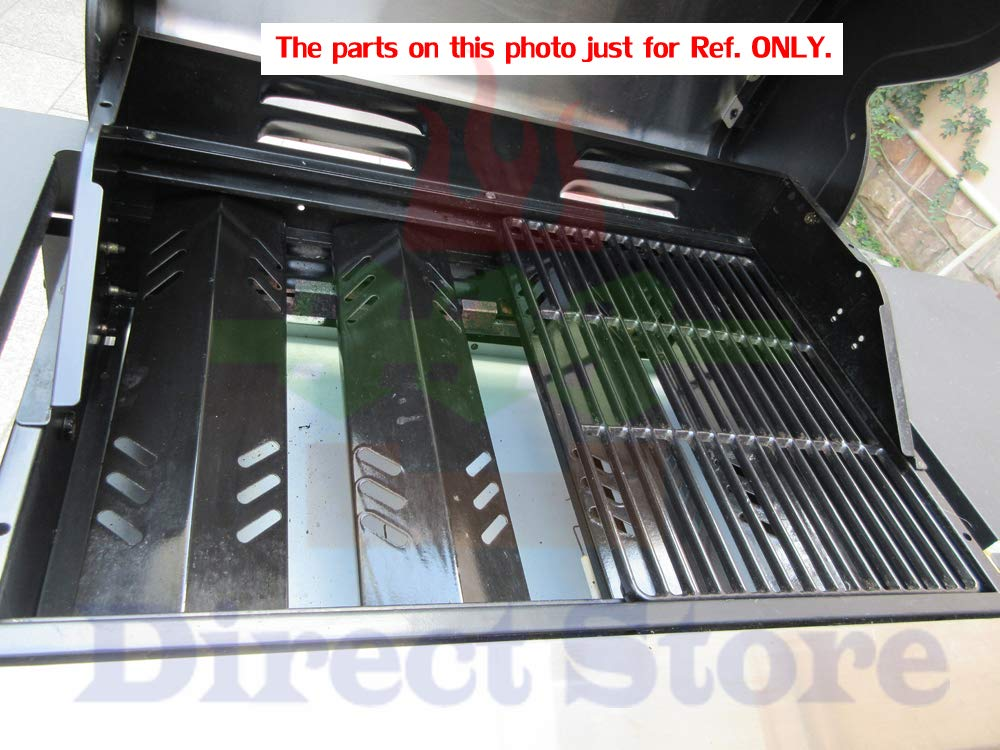 Direct store Parts Kit DG166 Replacement Charbroil Commercial Gas Grill 463268606,463268007 Repair Kit (SS Burner + SS carry-over tubes + Porcelain Steel Heat Plate + Porcelain Cast Iron Cooking Grid) by Direct store (Image #6)