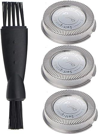 Hq56 Cabezales de Afeitado para Philips Norelco HQ3 HQ6 HQ55 HQ56, Poweka Cuchilla de Afeitar de Repuesto para Philips Máquinilla de Afeitar