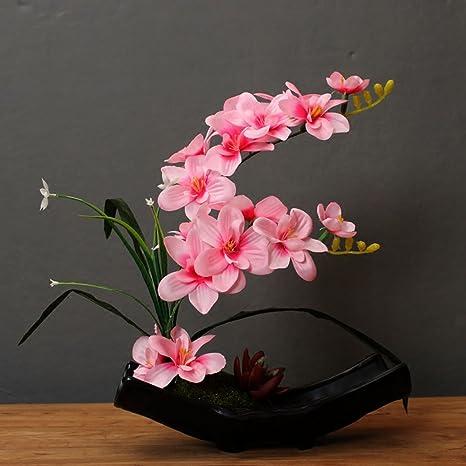 Wenzhe Flores Artificiales Ramo Falsas Arreglos Florales