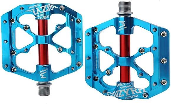 Ohhome Bike Pedals Universal Sealed Bearing CNC Aluminum Body 3 ...