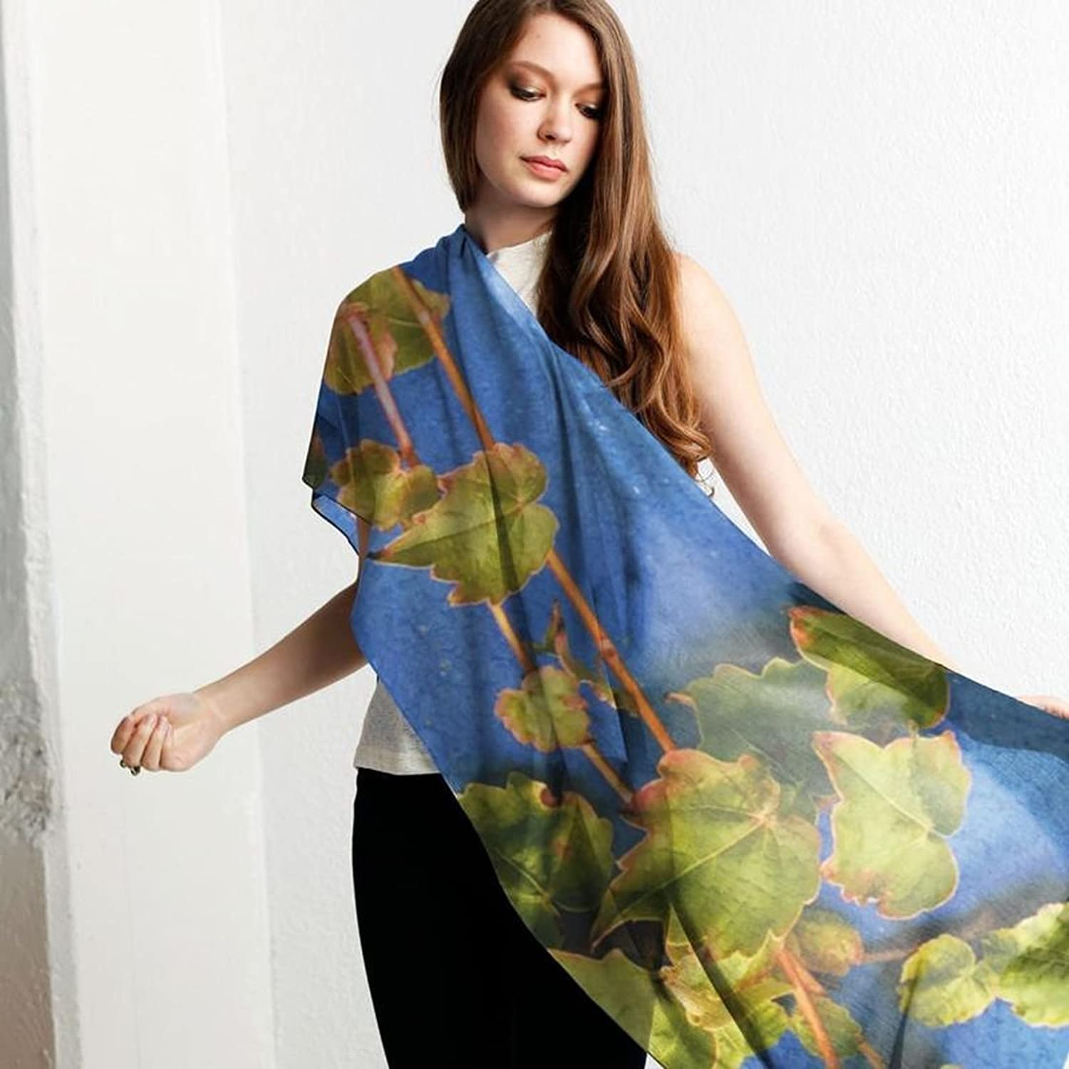 Buy Online New Free Shipping Release Dates Modal Scarf - leaf lady by VIDA VIDA Excellent Good Selling Cheap Price 5yF2Z