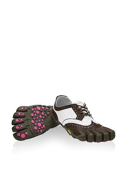 reputable site d81d0 d7707 Vibram FiveFingers Women s V-Classic LR Barefoot Shoes Brown White Purple 36
