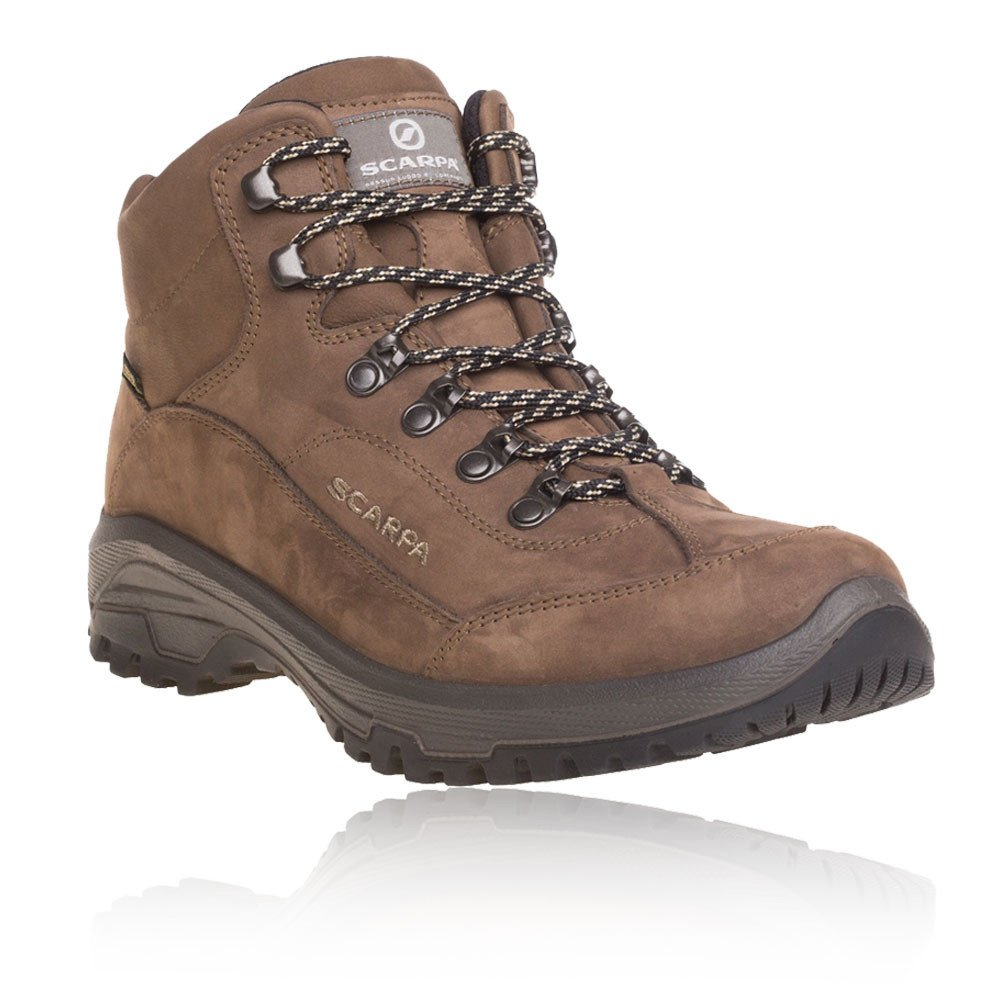 SCARPA Cyrus Gore-Tex Mid Hiking Boots - SS18 13 D(M) US|Brown