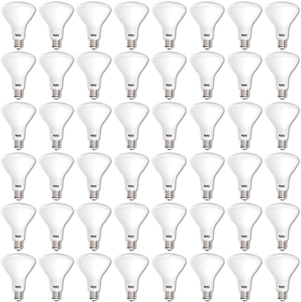 Sunco Lighting 48 Pack BR30 LED Bulb 11W=65W, 3000K Warm White, 850 LM, E26 Base, Dimmable, Indoor/Outdoor Flood Light - UL & Energy Star