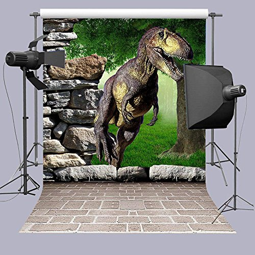 Qian Dinosaur Themed Party Photography Backdrops 3D for sale  Delivered anywhere in USA