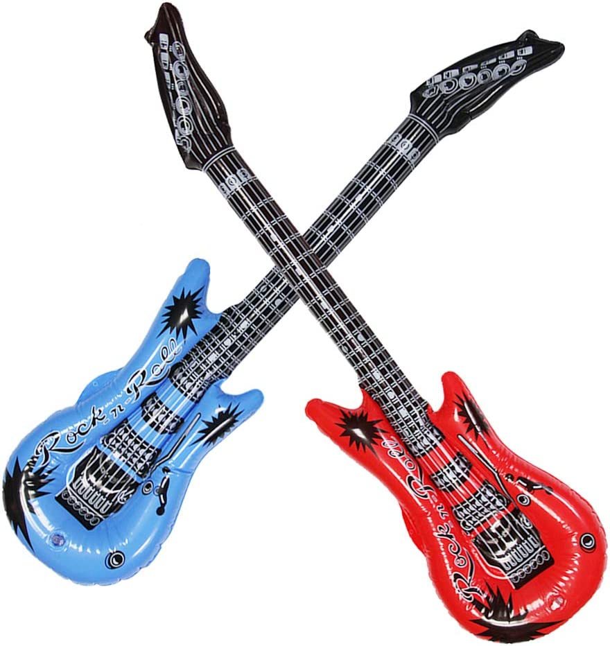Amazon.com: Dr.dudu - Guitarra hinchable, impermeable ...