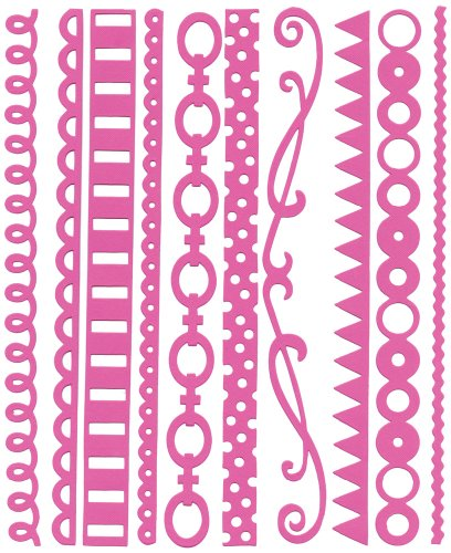 (Bazzill Just The Edge 3 303212 Pajama Cardstock)