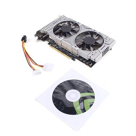 Bunner Tarjeta gráfica Profesional GTX 1050 2GB GDDR5 128GB ...