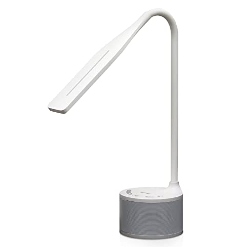 Tenergy Harmony Dimmable LED Desk Lamp with Builtin Bluetooth