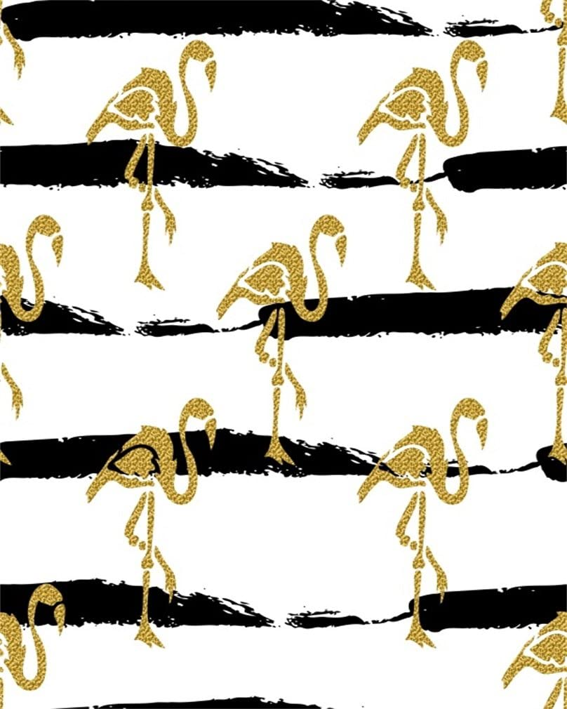 AOFOTO 10x12ft Abstract Flamingo Patterns Background Birthday Party Decorative Photography Backdrop Kid Newborn Girl Lovers Infant Child Artistic Portrait Photo Studio Props Video Drape Wallpaper