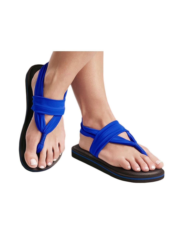 Sandalen Joy Colors Electric Blue 37 Blau 4dQE5uVSQ